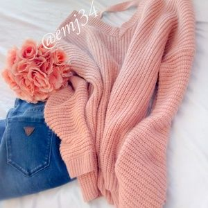 Pre-owned pink forever 21 sweater